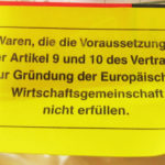ドイツに発送した荷物が返送されて来たけど理由がよく分からない